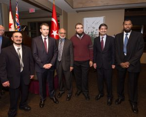 Turkish Consul Anal Bora Inan With Guests