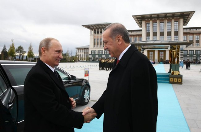 Putin in Turkey