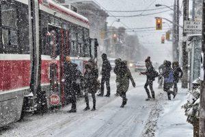 Toronto'da Bir Kış Günü